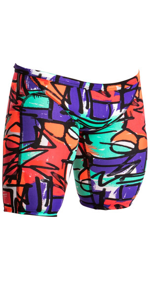 Funky Trunks Training Jammers Spodenki kąpielowe Mężczyźni kolorowy